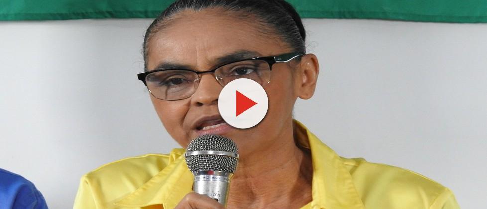 Marina admite candidatura e diz que houve 'crime' nas eleições de 2014