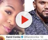 Karol Conka humilha Naldo: 'Arrebentei ele na porrada'