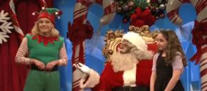 """Saturday Night Live"" Xmas skit, via Twitter"
