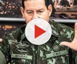 General Mourão resolve se pronunciar a respeito do episódio que culminou em sua destituição. (Foto Reprodução).