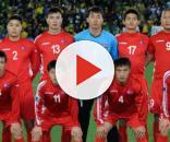 La Nazionale di calcio della Corea del Nord impegnata nella Coppa dell'Asia Orientale