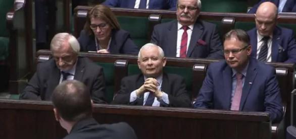 Paweł Kukiz oraz Jarosław Kaczyński (youtube.com).