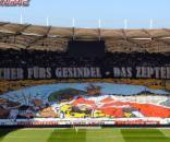 Fan-Choreo in Stuttgart (Quelle: internet-remotecontrol.net)