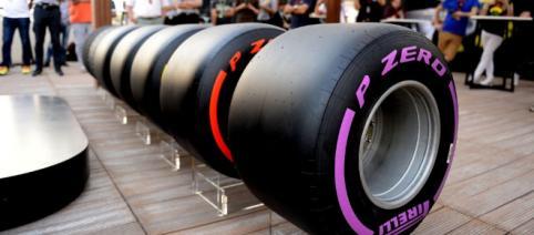 Pirelli show off full range of wider 2017 tyres - formula1.com