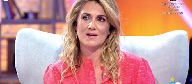 Telecinco se harta de Carlota Corredera y su futuro corre serio peligro