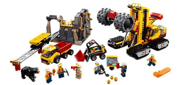 Le macchine da miniera Lego: in arrivo il 26 dicembre!