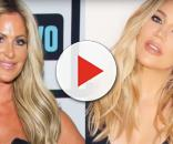 Khloe Kardashian sends Kim Zolciak-Biermann a festive holiday gift for the family. [via: YouTube/PeopleTV/YouTube/Clever News]
