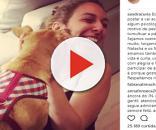 Namorada de Bonner recebe críticas em foto