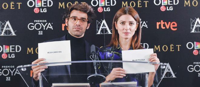 Los nominados que optan a los Premios Goya 2018