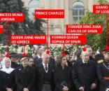 Mihai I al României condus pe ultimul drum de capetele încoronate ale Europei - Foto: Daily Mail (© AP)