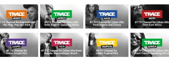 Acht Musiksender liefert Trace über Amazon FireTV - ab 2,99 Euro pro Monat / Foto: TraceTV, Montage