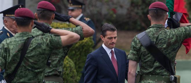Peña Nieto asegura fraude electoral del 2018, con la Ley de Seguridad Interior