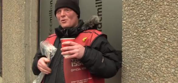 Neglected communities: Glasgow's Homeless - Image credit - Marina Khadipash | YouTube