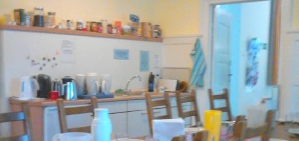 Eßgruppe mit Teeküche im Erdgeschoss