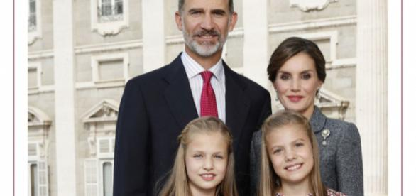 La familia real al completo....