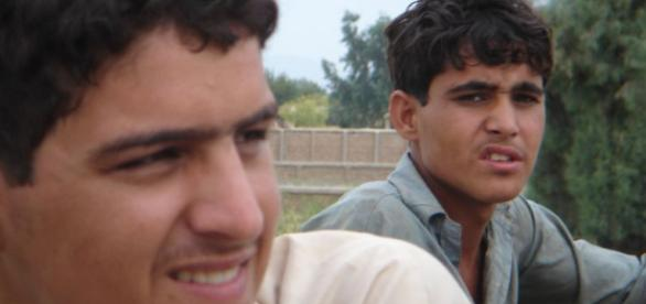 Photo Credit: Goosemountains. Two young Afghan boys in Nangarhar the Province of Afghanistan.