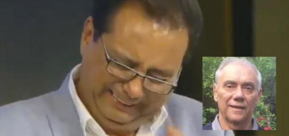 Geraldo chora muito ao saber de segredo de Rezende meses após morte
