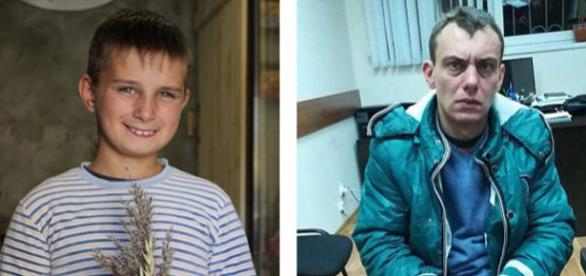 Ruslan Korolev (stânga) a fost ucis și tranșat de Alexander Georgievskiy (dreapta) - Foto: Daily Mail