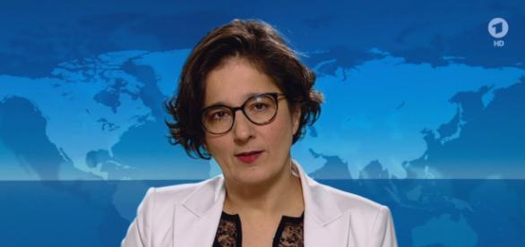 Niemiecka dziennikarka wypowiada się na temat uchodźców oraz Grupy Wyszehradzkiej (screen YouTube).