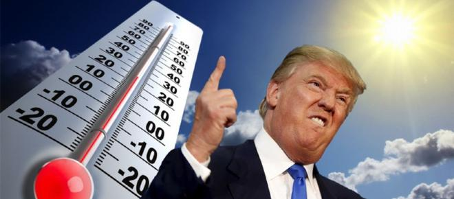 Donald Trump, un climatosceptique contre le reste du monde