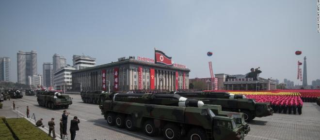Potential for war increasing everyday with North Korea