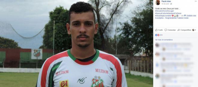 Jogador de futebol é assassinado após ter carro roubado