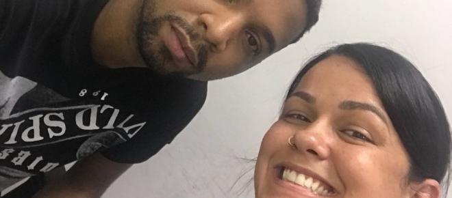 Polêmica; Rogério 157 posa sorrindo em selfie com policial depois de ser preso