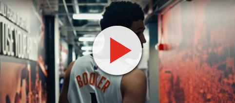 Suns guard Devin Booker went for 46 points to lead his squad versus the 76ers. -- [The Players' Tribune via YouTube]