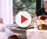 Ivete e Ana Maria tomando café da manhã