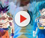 Dragon Ball Super Vegeta y Goku en Ultra Instinto