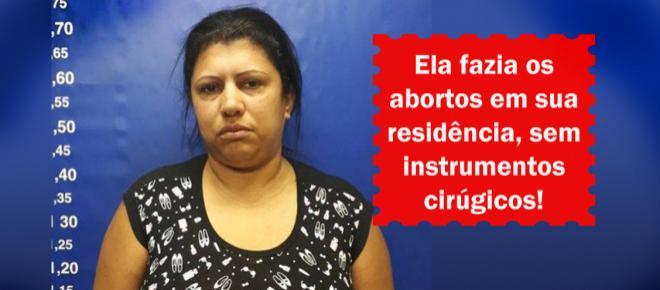 Doméstica realizava abortos clandestinos e causa a morte de uma estudante
