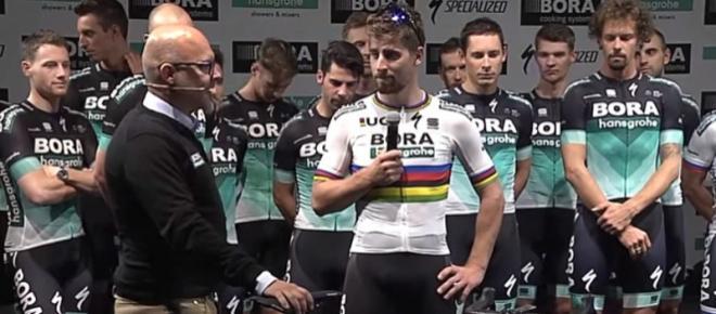 Ciclismo, Peter Sagan: scommessa vinta con il manager della Bora