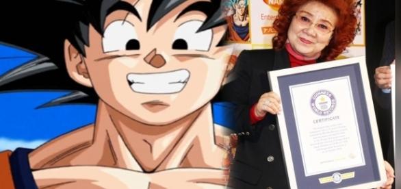 La actriz que la da voz a Goku ingresó en el libro Guinness de los récords.