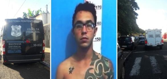 O homem assassinado já tinha varias passagens pela polícia