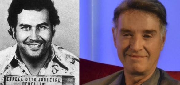 Pablo Escobar (esq) e Eike Batista (dir)
