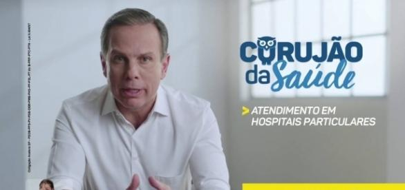 Prefeito João Doria e o programa Corujão da Saúde
