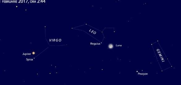 Eclipsa de Luna vizibila in intreaga Romanie Foto: Observatorul Astronomic din Bucuresti