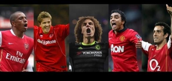 Gilberto Silva, Juninho e David Luiz são alguns do que se destacaram na Premier League