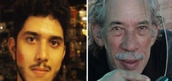 Jovem que matou o avô e solto pela justiça de Alagoas.