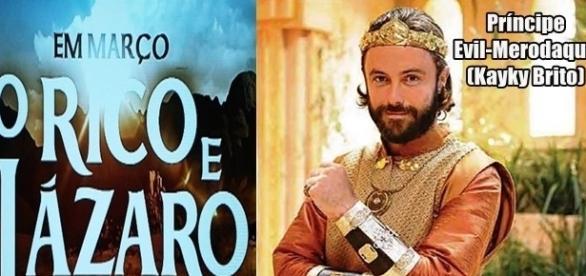 Kayky Brito será o bondoso príncipe Evil-Merodaque em 'O Rico e Lázaro'