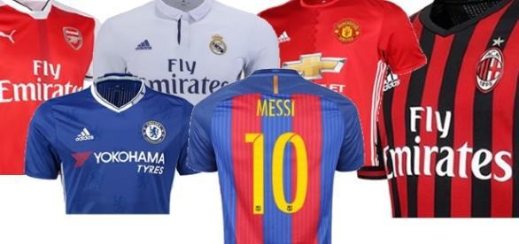 Mesmo fora da Liga dos Campeões, Manchester e Chelsea aparecem no top-5