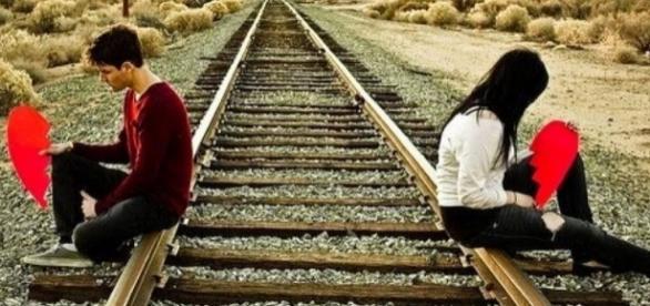 Quando casamento não dá mais certo e ambos seguem direções diferentes a dor é inevitável