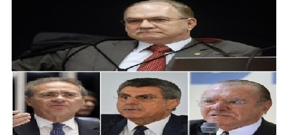 Relator da Lava Jato determina a abertura de inquérito contra os parlamentares do alto escalão