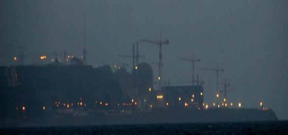 Travaux réacteur centrale nucléaire Flamanville