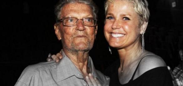 Xuxa e pai da apresentadora - Google