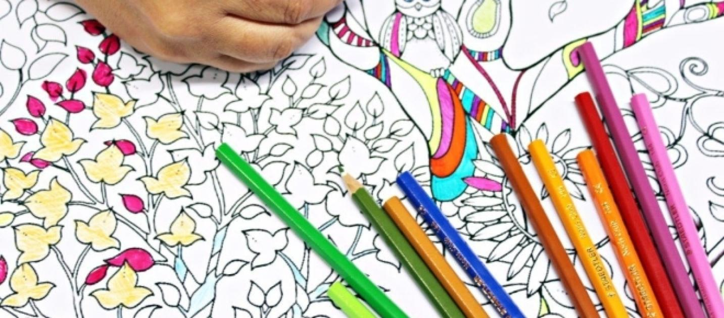 Artist Designs An Adult Coloring Book Featuring African Americans