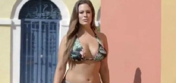 Ashley Graham a modelo 'plus size' mais famosa do momento