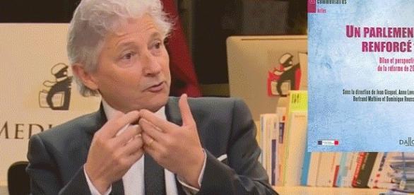 Dominique Rousseau est notamment coauteur, avec Jean Gicquel, d'un manuel Dalloz (et d'autres manuels de droit constitutionnel). Ici, à Mediapart