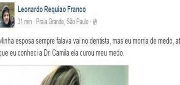 Doutora Camila conseguiu curar o medo de Leonardo de ir ao dentista.