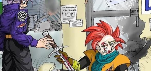 Dragon Ball Super: El origen de la espada de Trunks del Futuro